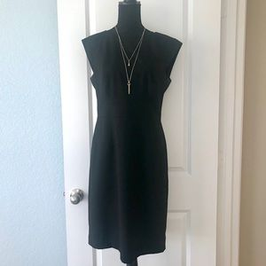 The Limited Size 10 Black Dress